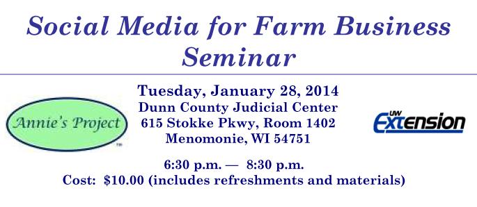 Social Media for Farm Business